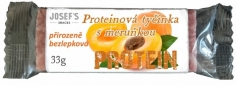 Proteinová tyčinka - meruňka,bez lepku 33g JOSEF'S