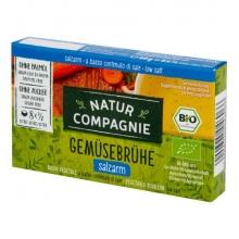 Bujon zeleninový s nízkým obsahem soli Bio 68g NATUR COMPAGNIE