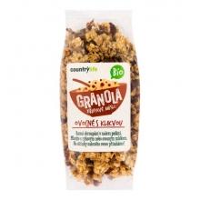 Granola - Klikva Bio 350g COUNTRY LIFE