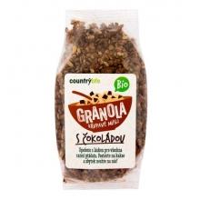 Granola - Čokoláda Bio 350g COUNTRY LIFE