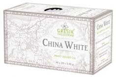 Zelený čaj p. - China White n.s. 20x2g GREŠÍK