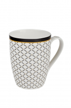 Mystic bílý 0,34 l - porcelánový hrnek