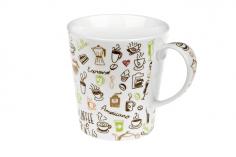 Káva s láskou 0,3l - porcelánový hrnek