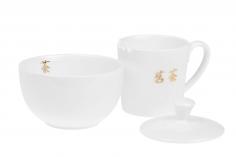 Tea taster Cha - porcelánový set na ochutnávku