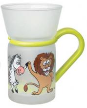 Zvířecí párty 0,25 l - čajová sklenice