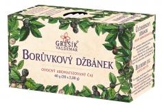 Ovocný čaj - Borůvkový džbánek 20 n.s. GREŠÍK