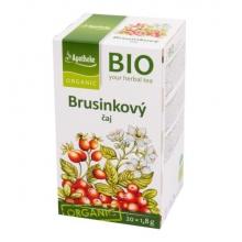 Čaj - Brusinkový Bio 36g MEDIATE