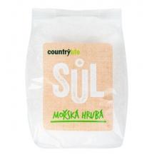 Sůl - Mořská hrubá 1kg COUNTRY LIFE