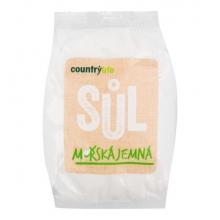 Sůl - Mořská jemná 1kg COUNTRY LIFE