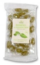 Bylinné bonbony se zeleným čajem 100g GREŠÍK