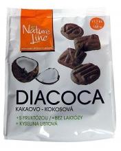 sLEVA Z 47,- Diacocca s fruktozou kako kokos 180g
