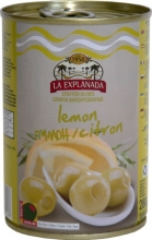 Olivy zelené plněné citronem 280g obsah 120g