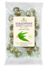 Eukalyptové bonbony bez cukru 100g GREŠÍK