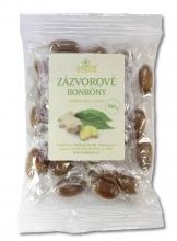 Bonbony-Zázvorové bylinné 100 g GREŠÍK