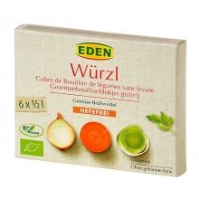 Bujon zeleninový Wurzl kostky bez droždí 72g BIO