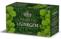 Zelený čaj zdravotní s ginkgem- Čaje 4 světadílů 20 n. s. GREŠÍK