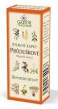 Průduškové - Devatero bylinné kapky 50 ml GREŠÍK