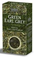 Zelený čaj -Green Earl Grey - Čaje 4 světadílů 70g GREŠÍK