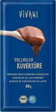 Čokoláda mléčná  na vaření 200g BIO VIVANI