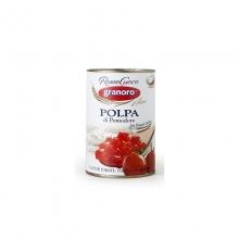 Polpa di pomodoro krájená rajčata 400g obsah 240g