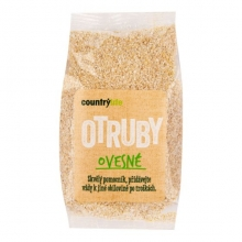 Otruby - Ovesné 250g  COUNTRY LIFE