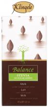 Čokoláda STEVIA hořká bez cukru 85g BALANCE