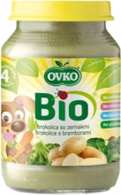 Bio brokolice s bramborami 190 g