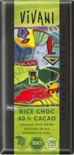 """Bio rýžová """"čokoláda"""" VIVANI 100 g"""