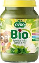 Bio špenát s rýží 190 g