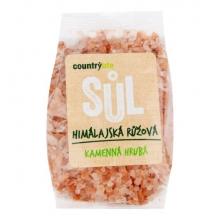 Sůl - Himalajská růžová hrubá 500g COUNTRY LIFE