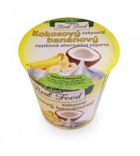 Kokosový banánový zakysaný jogurt bez lepku a laktozy 125g