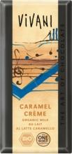 Čokoláda VIVANI mléčná s karamelem 100g