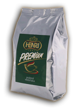 Henri Café Premium mletá 250g