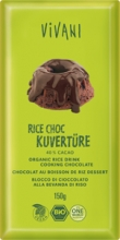 BIO VIVANI rýžová čokoláda na vaření 150 g