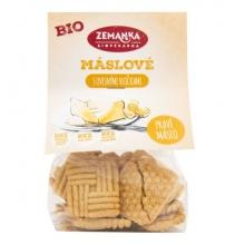 Sušenky - Máslové,vločky Bio 100g ZEMANKA