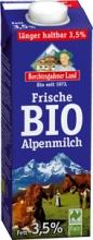 BIO čerstvé alpské mléko plnotučné BGL 1 l