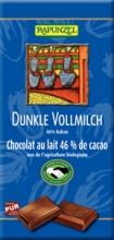 BIO hořko mléčná čokoláda 46% RAPUNZEL 100g