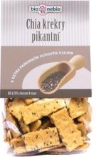 Bio chia krekry s olivovým olejem 130 g