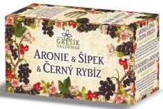 Ovocný čaj - Aronie & Šípek & Černý rybíz 20 n.s. GREŠÍK