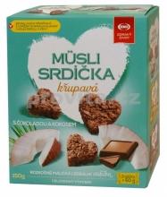 Musli srdíčka kokos 150g SEMIX