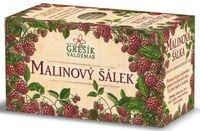 Ovocný čaj -Malinový šálek 20 n. s. GREŠÍK