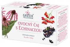 Ovocný čaj s echinaceou 20 n.s. GREŠÍK