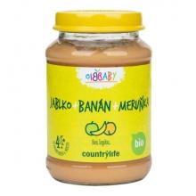 Přikrm - Jablko,banán,meruňka Bio 190g COUNTRY LIFE