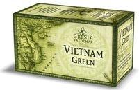 Zelený čaj -Vietnam Green - Čaje 4 světadílů 20 n. s. GREŠÍK