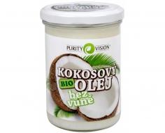 Kokosový olej BIO bez vůně 400ml AKCE! PŮVODNÍ CENA 196,-