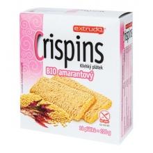 Chlebíček kukuřičný s amarantem Crispins bezlepkový Bio 100g EXTRUDO