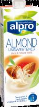 Alpro mandlový nápoj - bez cukru 1l Emco