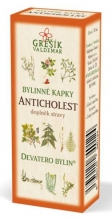 Anticholest kapky - Devatero bylin 50ml GREŠÍK