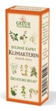 Klimakterin bylinné kapky - Devatero bylin 50 ml GREŠÍK