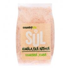 Sůl - Himalájská růžová,jemná 500g COUNTRY LIFE